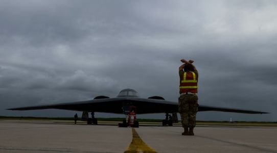 B2 Spirit Stealth Bombers deploy to Diego Garcia, supports Bomber Task Force