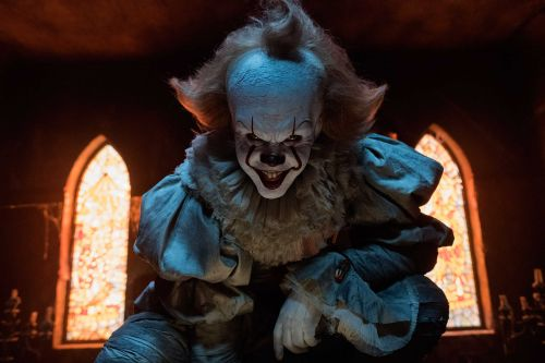 Report: Woman burns 'bloodied' Pennywise doll that dropped from the sky, into her yard