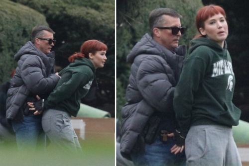 Jennifer Lawrence spotted filming 'Don't Look Up' near Boston