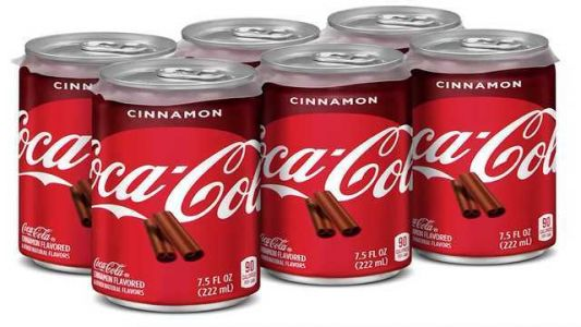 NEW COKE: Coca-Cola to unveil new holiday flavors, including cinnamon-flavored Coke