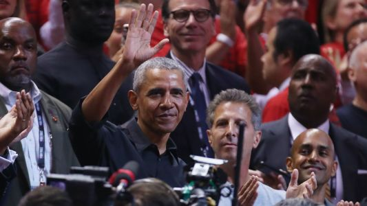 NBA Finals 2019: Barack Obama receives standing ovation during Game 2 in Toronto