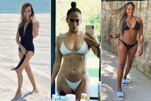 Stunning celebrities over 50 in bikinis and swimsuits