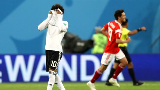 'No Salah magic' - Twitter reacts to Egypt's defeat to Russia