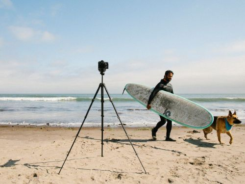 Take Peak Design's new Travel Tripod with you on your next adventure
