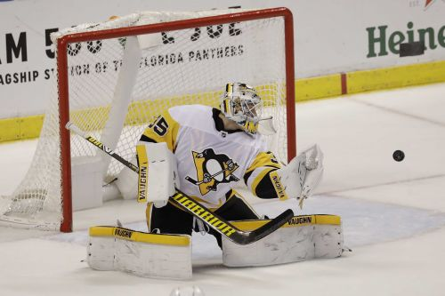 Pittsburgh Penguins announce Tristan Jarry will start as goaltender in Game 4