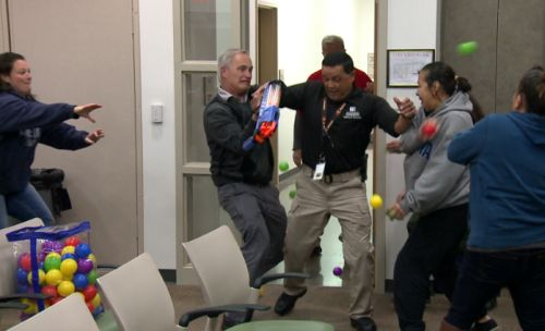 Active shooter training for parents