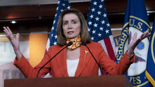 Pelosi rallies U.S. House Democrats on possible presidential election decision