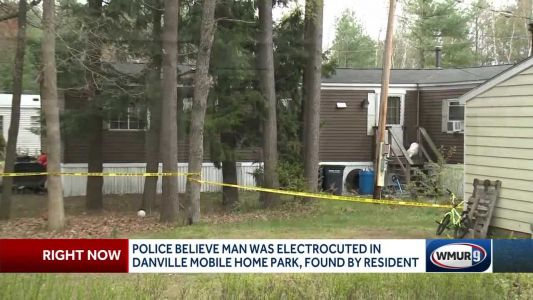 Police believe man was electrocuted in Danville mobile home park