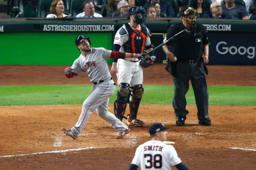 Red Sox bash host Astros to capture Game 3 of the ALCS