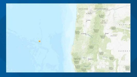 No tsunami danger from 5.3 earthquake off Southern Oregon coast
