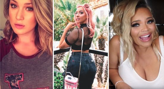 YouTubers Trisha Paytas and Gabbie Hanna are feuding - here's what you need to know about the drama