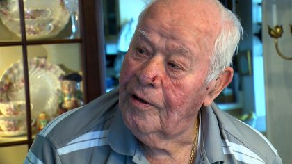WWII Vet Returns To Grateful Czech People