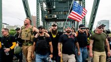 Proud Boys Deem Portland A Success Because Trump Sided With Right-Wing Extremists