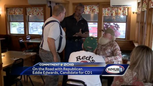 On the Road with Republican Eddie Edwards, candidate for CD1