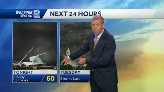 Videocast: Storms for Tuesday