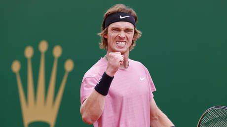 'Amazing feeling': Russia's Andrey Rublev rolls into maiden Masters 1000 final in Monte Carlo