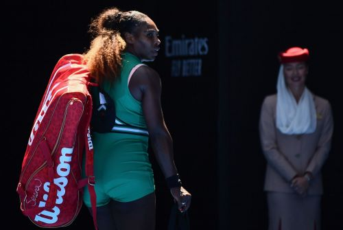 Serena Williams threw away a 5-1 lead in the third set, but insists she 'didn't choke' during Karolina Pliskova defeat