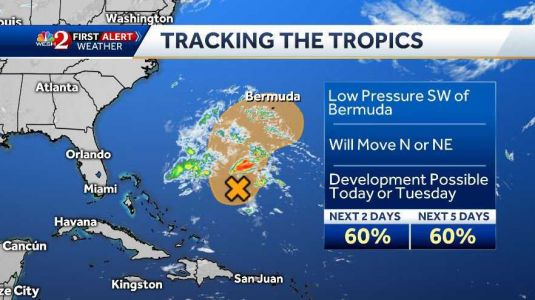 First tropical storm of the season could form Monday night