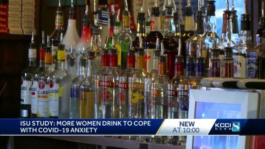 Study: Women have been drinking more during the pandemic