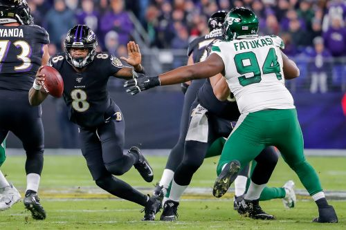 Jets have no answer for Lamar Jackson, Ravens in lopsided loss