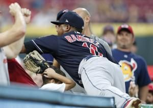 Cabrera homers, Indians' bullpen shuts down Reds in 4-3 win