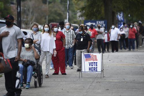 Georgia's legacy of voter suppression is driving historic Black turnout