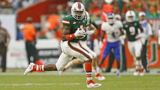 Miami's Jeff Thomas says he's entering NFL Draft, will not play in bowl game