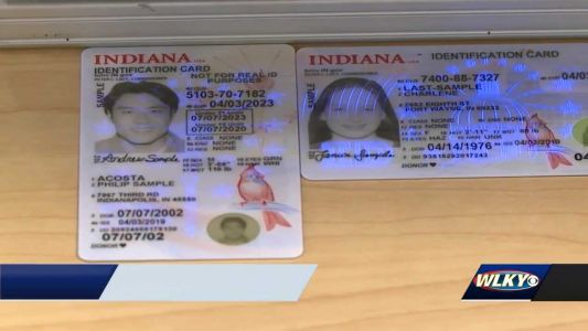 Indiana BMV unveils redesigned driver's licenses, ID cards with new security features