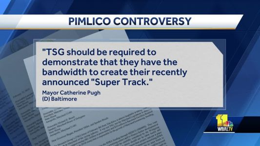 Baltimore mayor's letter pushes for Pimlico