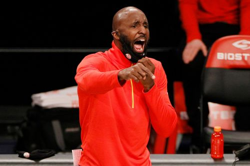 Hawks fire coach Lloyd Pierce, hope for second-half resurgence