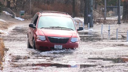 Hudson Prepares For Worst Flooding In Almost 2 Decades
