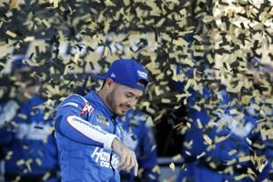 Larson out front as face of Hendrick charitable initiatives