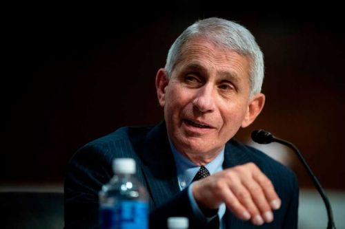 US is still 'knee-deep' in the first wave of the coronavirus pandemic, Fauci says
