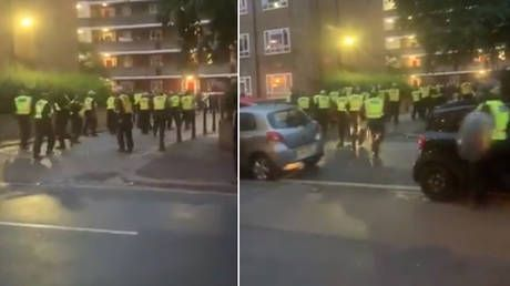 7 police officers injured breaking up illegal London rave as revelers pelt cops with bottles, forcing them to retreat