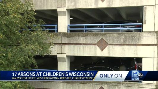 West Bend woman suspected of starting 17 fires in hospital parking garage