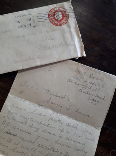 'Of course you know why I'm writing': War letter from 1917 a tale of friendship and sacrifice