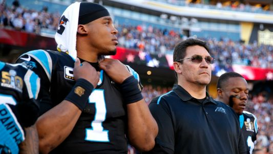 Ron Rivera says 'don't bet against' Cam Newton as he moves to Patriots
