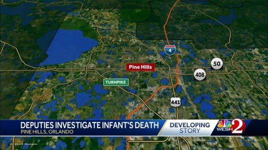 Deputies investigate infant death in Orlando