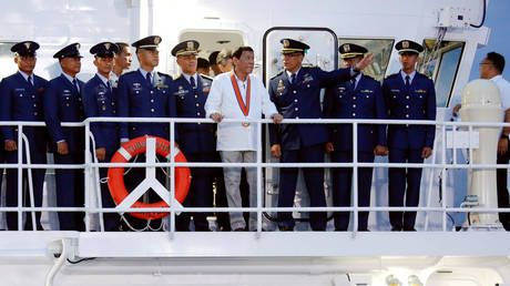 Philippines' Duterte warns of 'unfriendly' greeting for warships traveling without permission