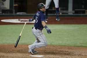 Seager's slam one of 3 Seattle homers in 10-2 win at Texas