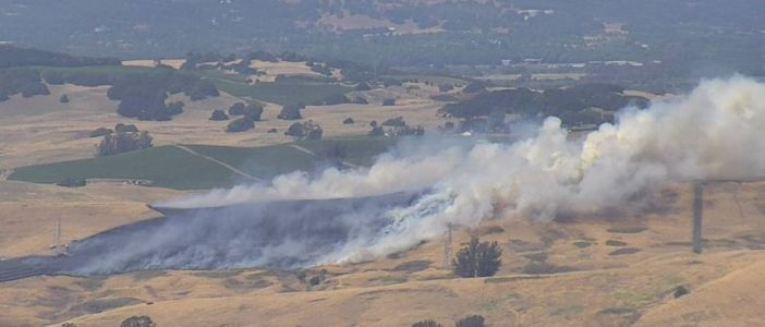 Crews battle 40-acre fire in Sonoma County, Cal Fire says