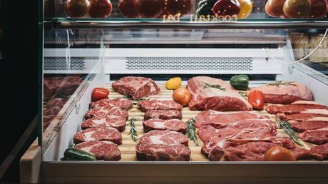 UK meat consumption falls by nearly a fifth in the last decade, as scientists warn reduction must be faster to hit climate target
