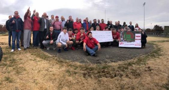 Jeffersonville High School breaks ground on John Schnatter baseball stadium