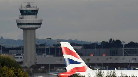 British Airways suspends all flights from London's second largest Gatwick Airport