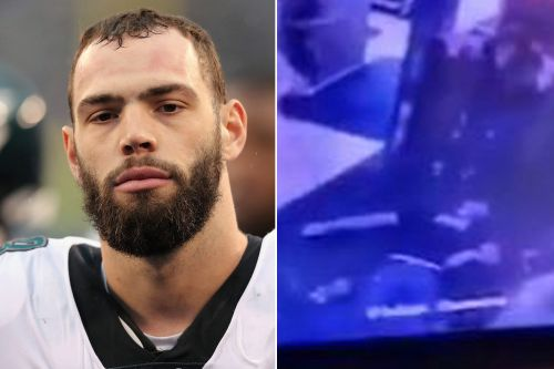 Florida man shown punching Eagles' Dallas Goedert shares his side of brawl