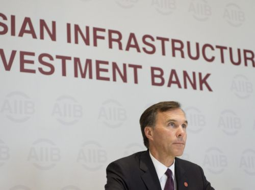 Canadian companies start to benefit from membership in China-based infrastructure bank