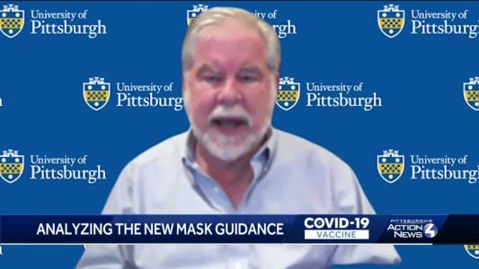 Pitt expert on disease spread says he'll personally continue wearing a mask in public