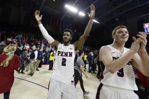 Penn tops No. 17 Villanova 78-75, ends Big 5 streak