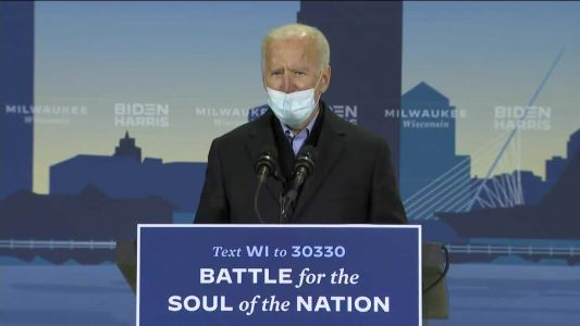 Joe Biden holds small campaign event in Milwaukee
