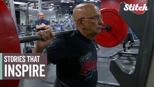 Powerlifter who started lifting in his 70s among people who inspired us this week